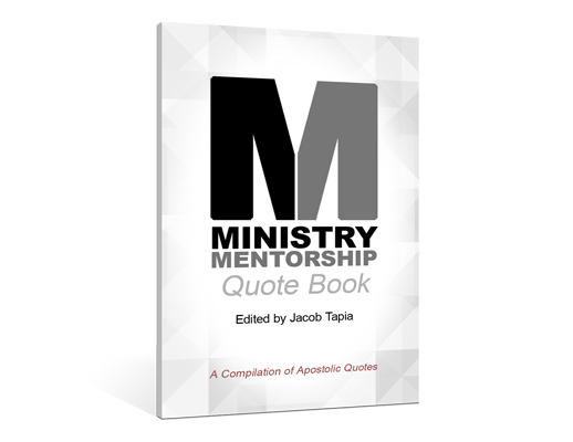 ministry mentorship quote book