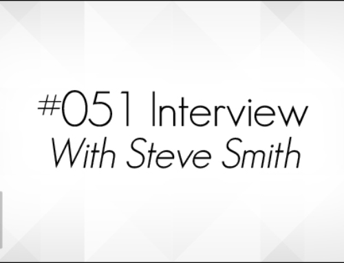#051: Interview with Steve Smith (Audio)