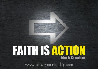 ministry mentorship faith mark condon