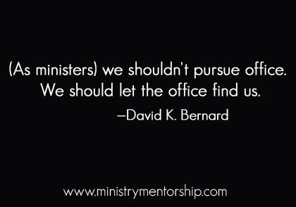 david bernard christian ministry apostolic preaching debate