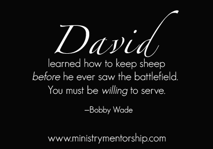 David Quote by Bobby Wade