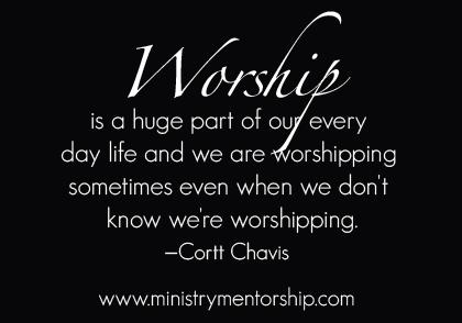 christian worship ministry mentorship cortt chavis