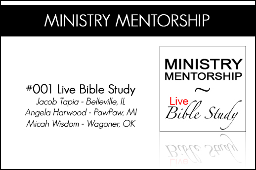 Ministry Mentorship Bible Study Header