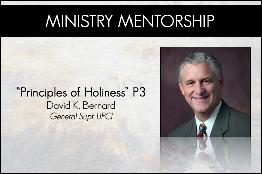 David Bernard Principles of Holiness