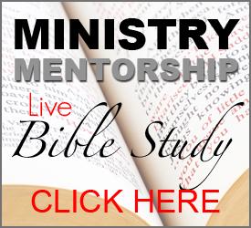 Ministry Mentorship Bible Study