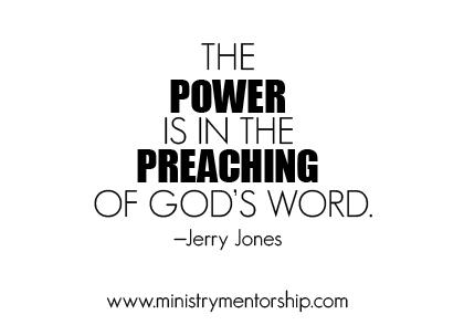 Jerry Jones preaching ministry mentorship apostolic jacob tapia