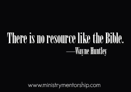 Wayne Huntley preaching teaching ministry mentorship jacob tapia christian quotes