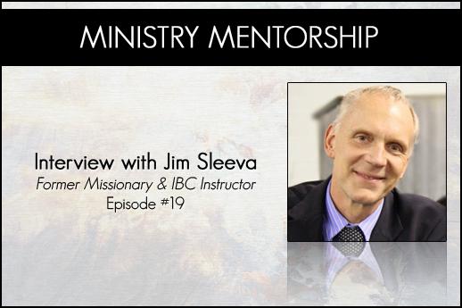 Jim Sleeva Interview