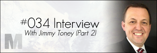 Jimmy Toney Interview
