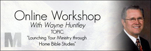 Workshop Bible Studies – Ministry Mentorship