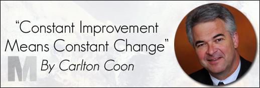 Carlton Coon Constant Improvement Means Constant Change